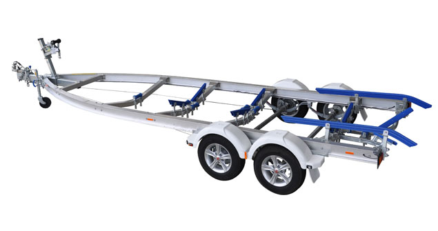 Trailers 2000kg Alloy Tandem Axle Trailer