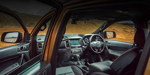Ranger Interior Features