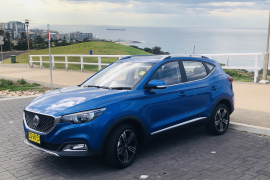 The MG ZS is the perfect road trip companion for Trudy Belcher