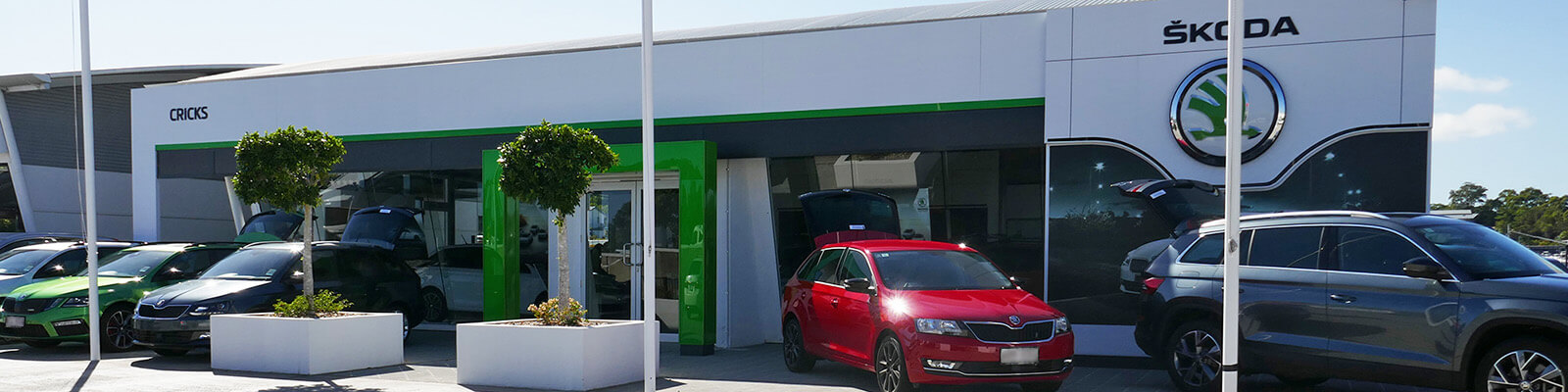 Cricks Skoda Sunshine Coast
