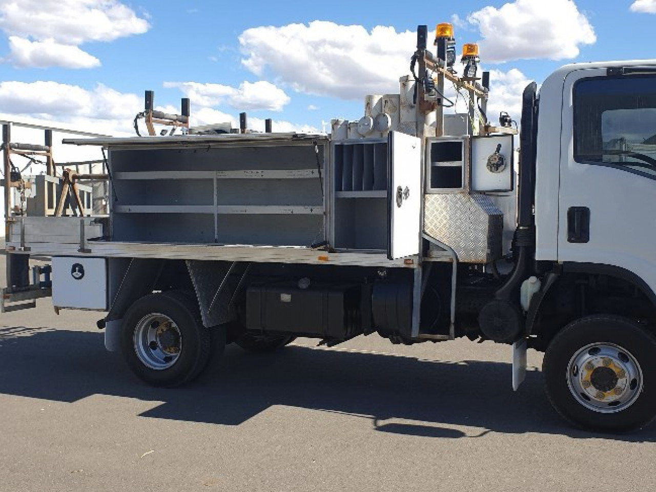 2010 Isuzu trucks N Series NH NPS