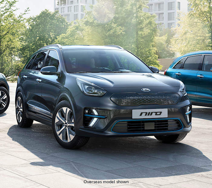 An electrified crossover SUV. Image
