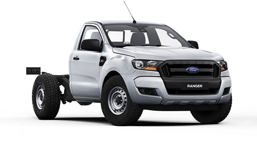 2018 MY17 Ford Ranger PX MkII 4x4 XL Single Cab Chassis 3.2L Single cab chassis