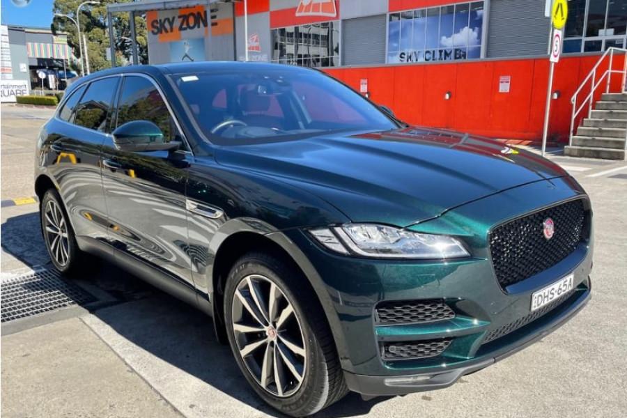 2016 Jaguar F-pace Portfolio
