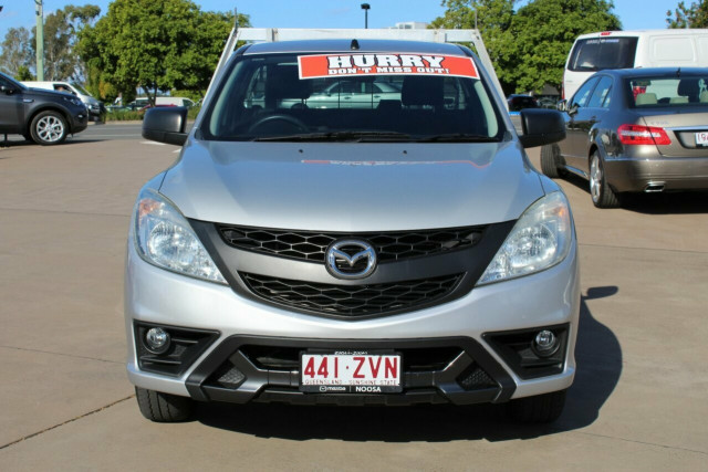 2013 Mazda BT-50 UP0YD1 XT 4x2 Cab chassis Image 3