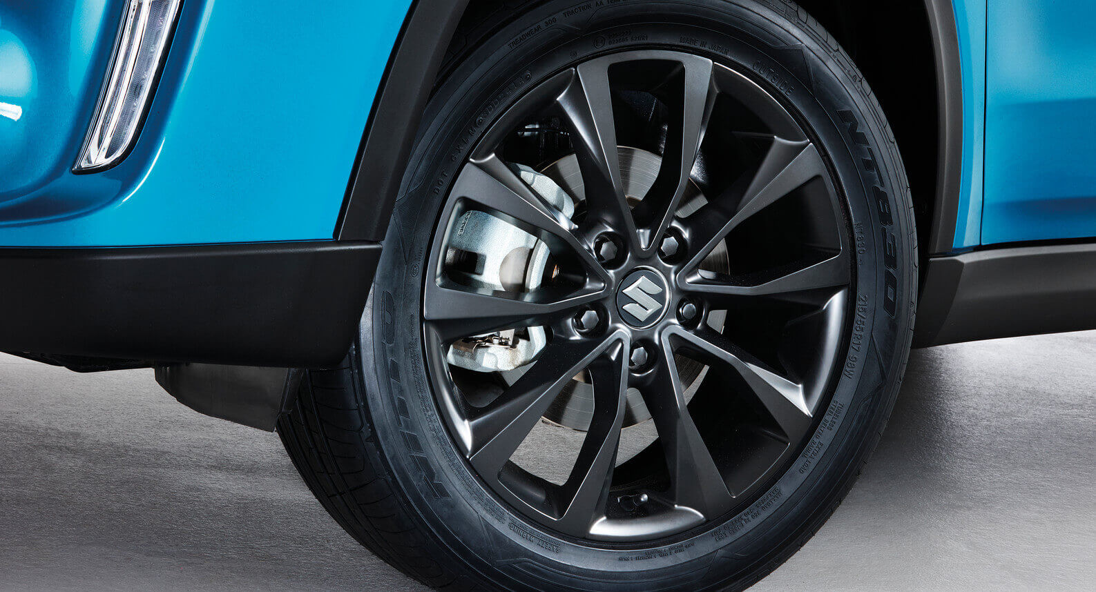 Satin Black Alloy Wheel
