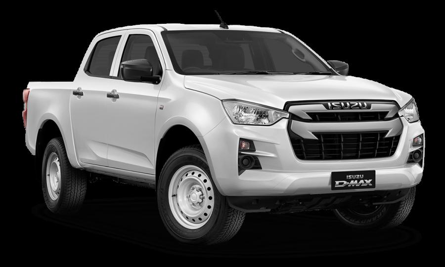 2020 MY21 Isuzu UTE D-MAX RG SX 4x2 Crew Cab Ute Utility Image 1