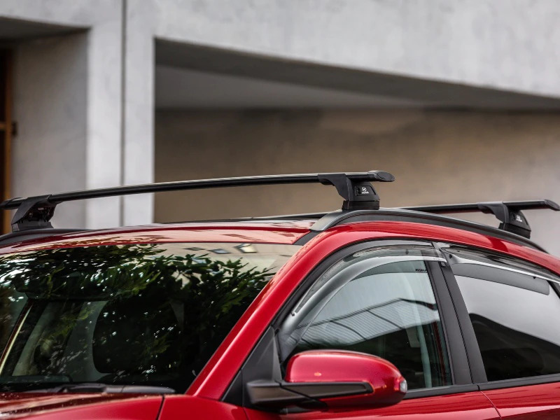 "<img src=""Hyundai genuine roof racks - through"