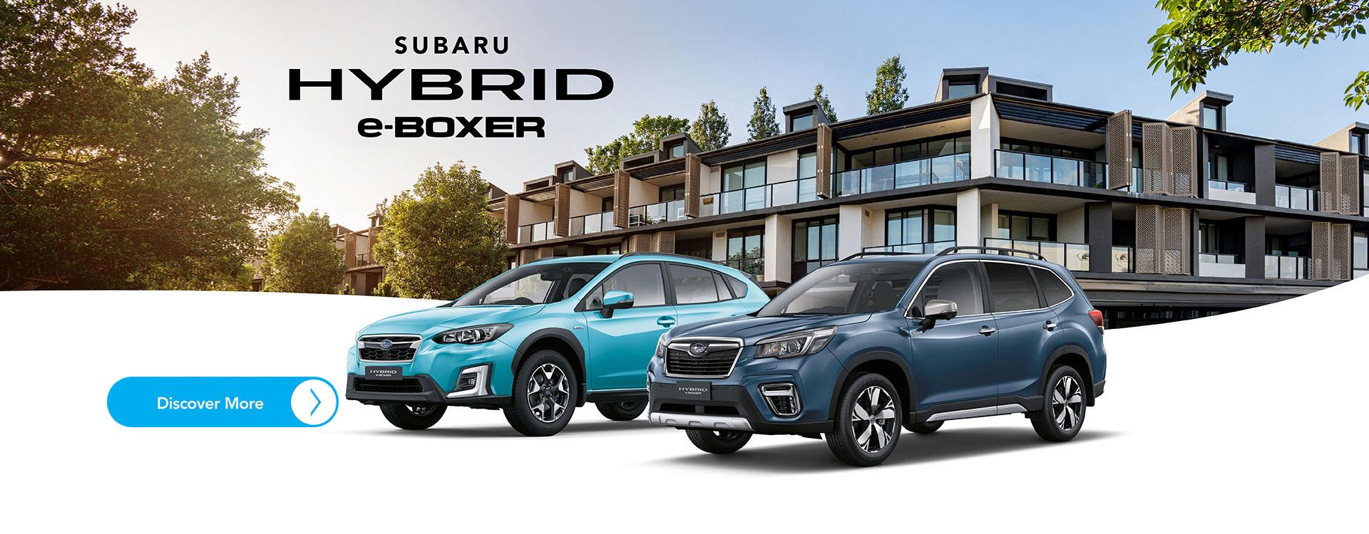Subaru E-Hybrid Boxer