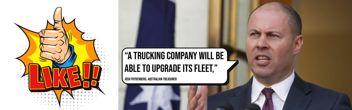 BIG BUDGET INCENTIVES FOR TRUCKING CUSTOMERS