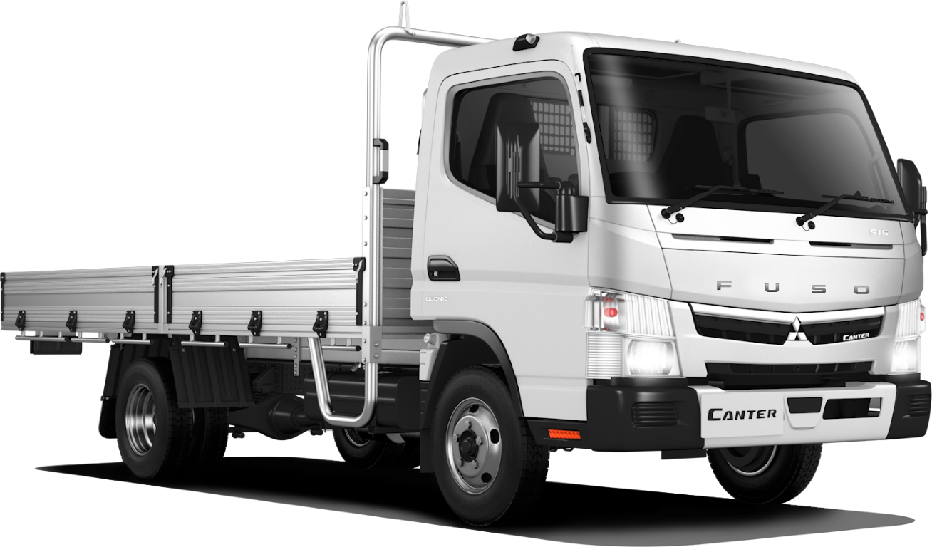 2020 Fuso 515 Wide Cab Drop side Tray Tray back