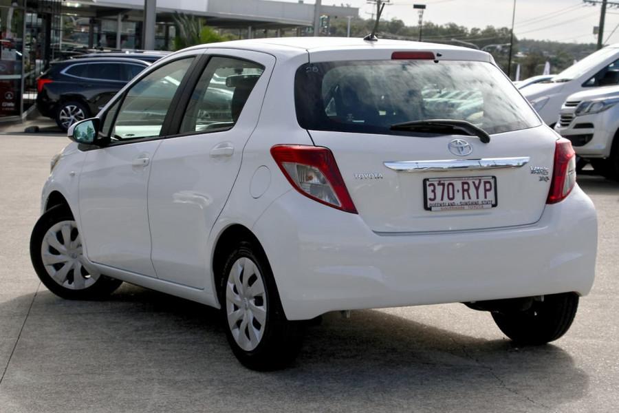 2011 Toyota Yaris NCP91R MY11 YRS Hatchback