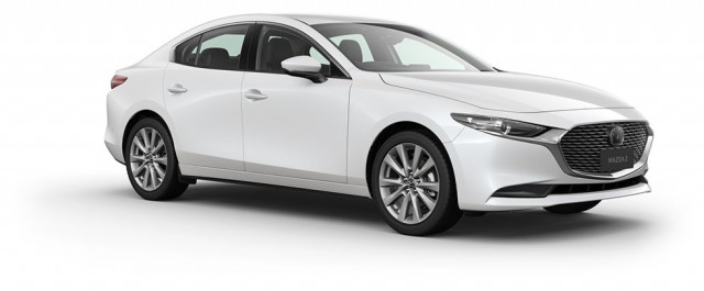 2021 MY20 Mazda 3 BP G25 GT Sedan Sedan Mobile Image 7