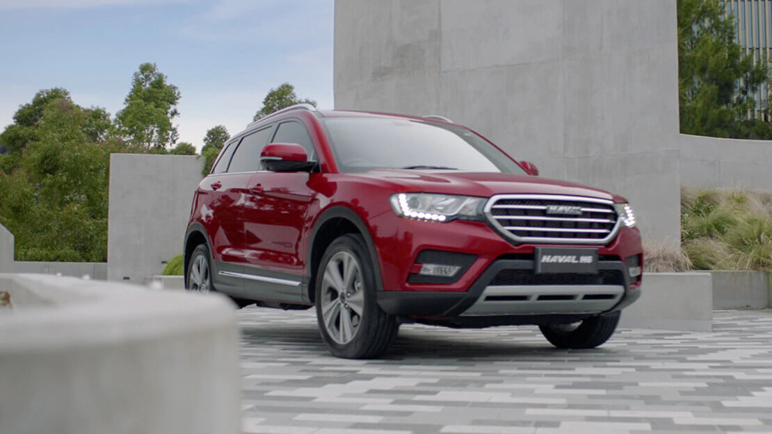 A SPORTIER-SORT OF SUV Image