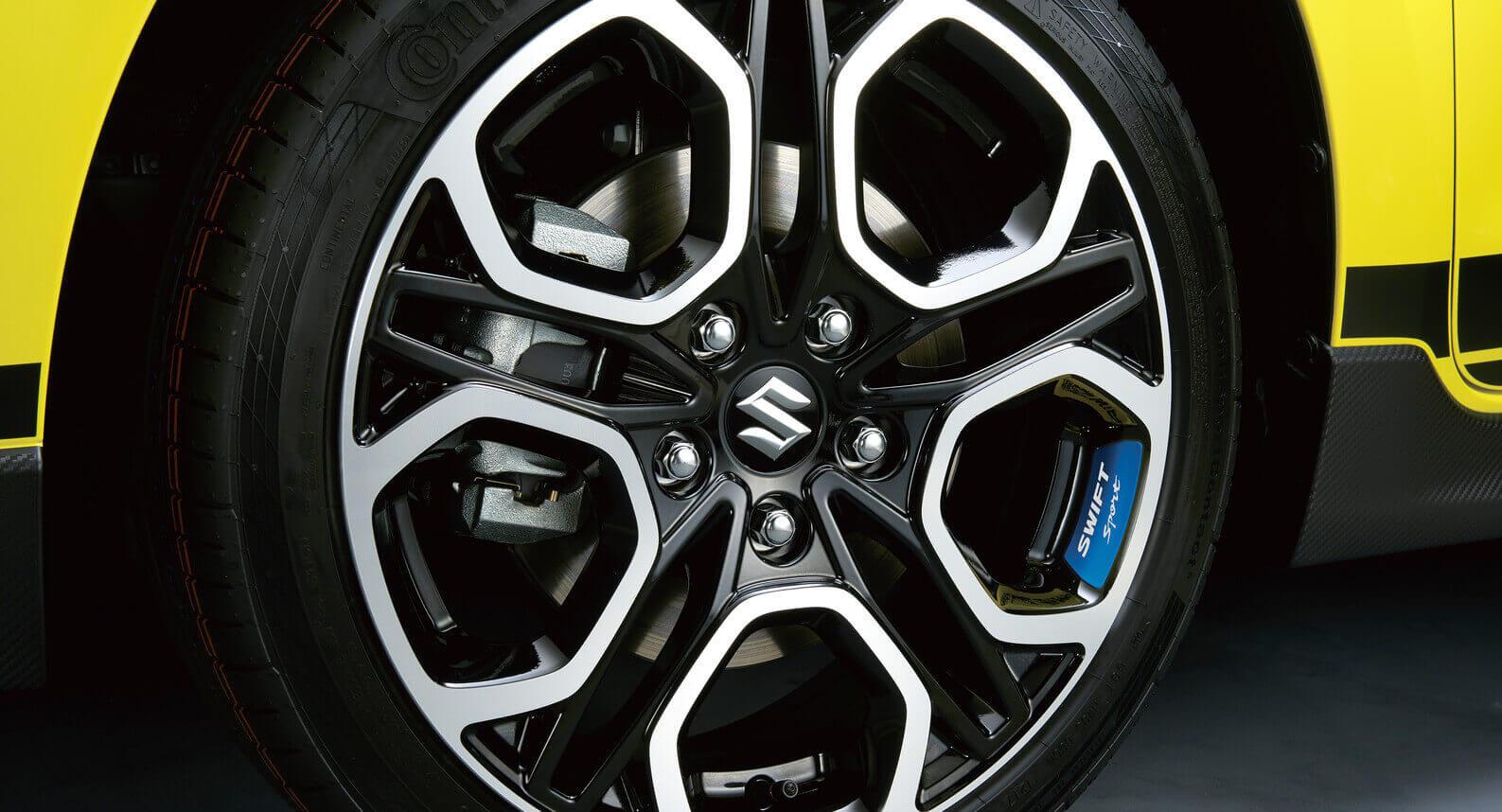 Wheel Decal - Blue
