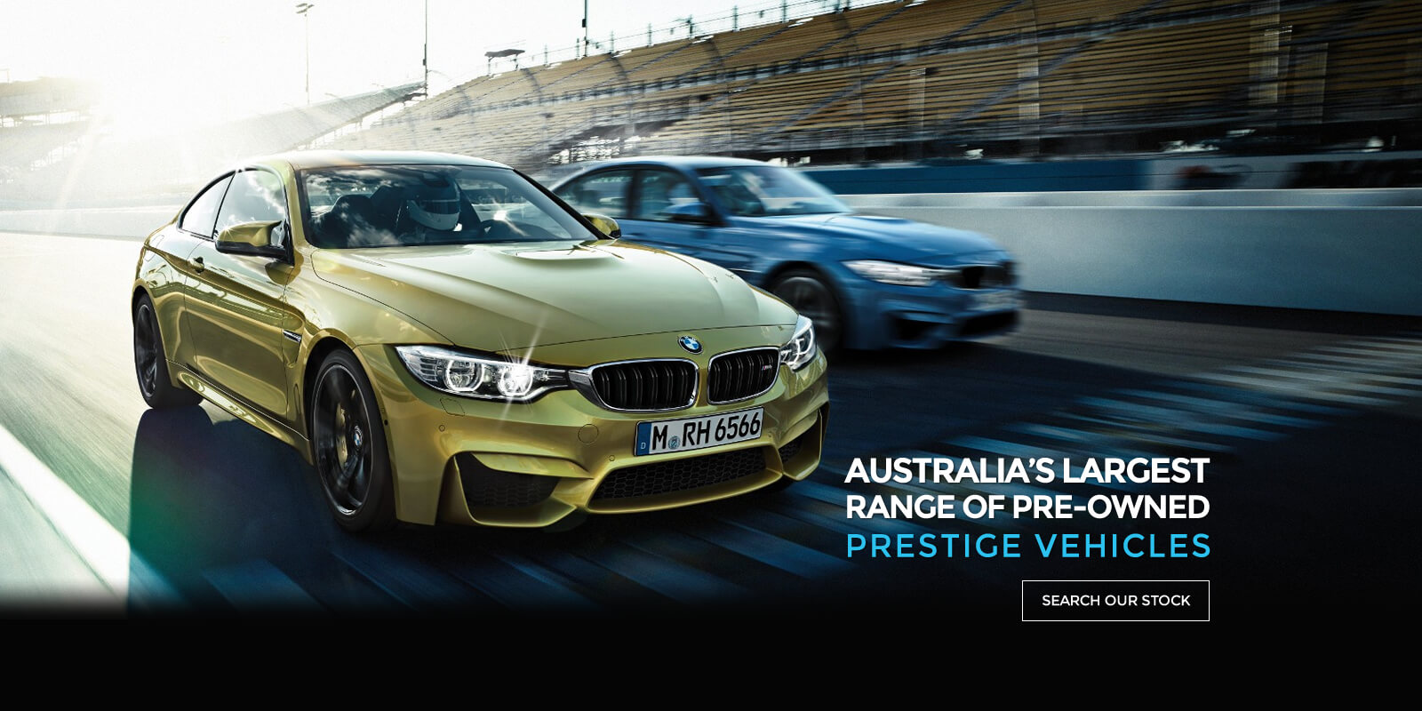Largest range of pre-owned prestige vehicles