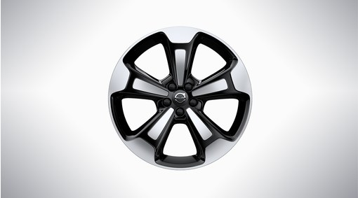 "20"" 5-Spoke Black Diamond Cut - 917"