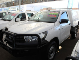 2017 Toyota HiLux GUN125R Workmate Cab chassis - single cab