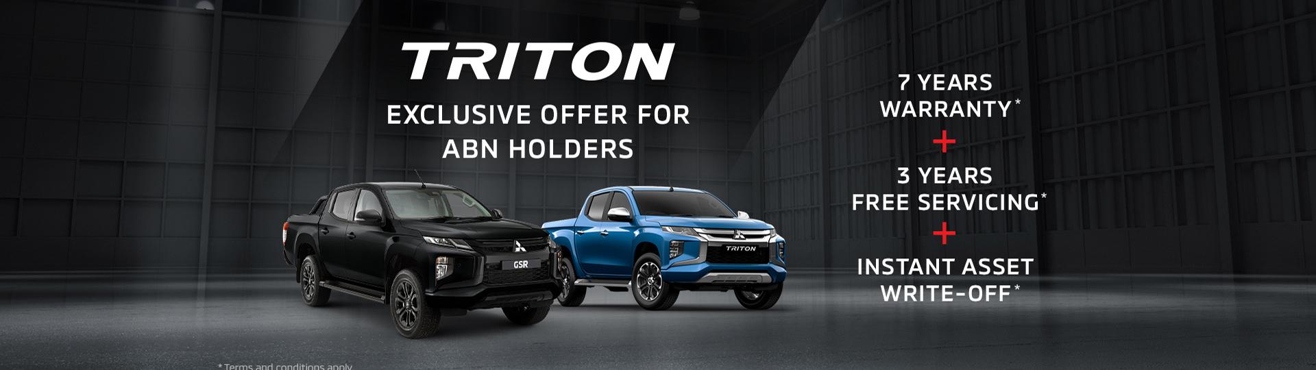 Triton ABN Holder offer