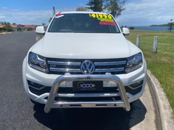 2017 MY18 Volkswagen Amarok 2H MY18 TDI550 Ute