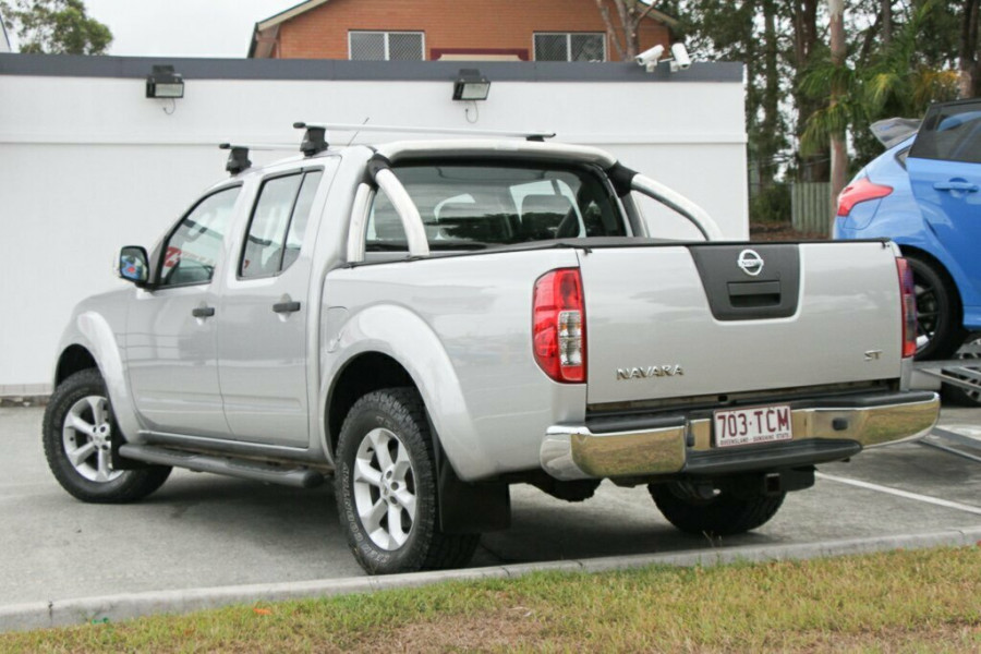 2012 Nissan Navara D40 S6 MY12 ST Utility