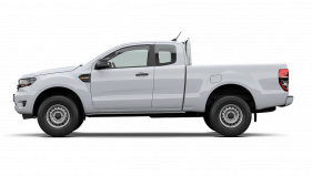 2020 MY21.25 Ford Ranger PX MkIII XL Super Cab Cab chassis