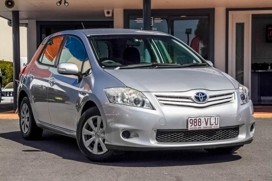 2010 Toyota Corolla ZRE152R Ascent Sedan