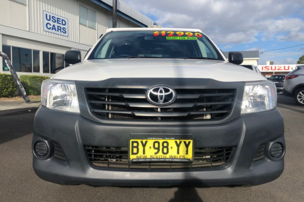2014 Toyota HiLux TGN16R MY14 Workmate Image 4