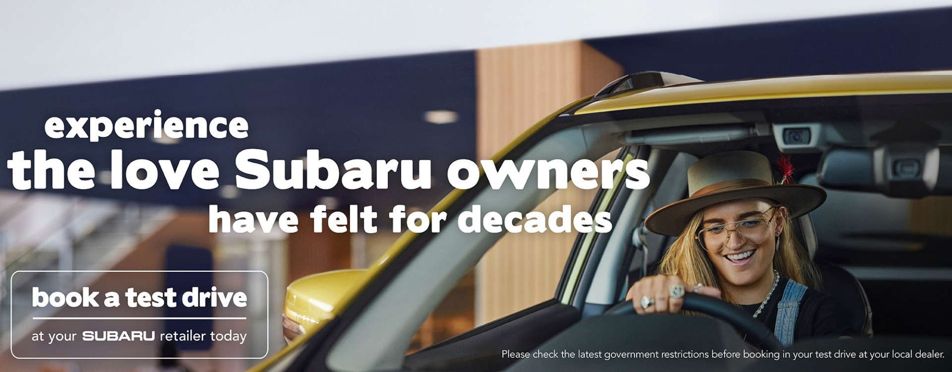 Experience the love Subaru owners have felt for decades. View our Offers.