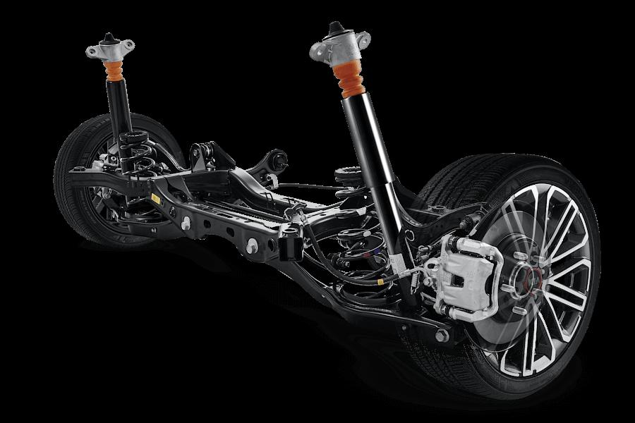 Multi-link suspension