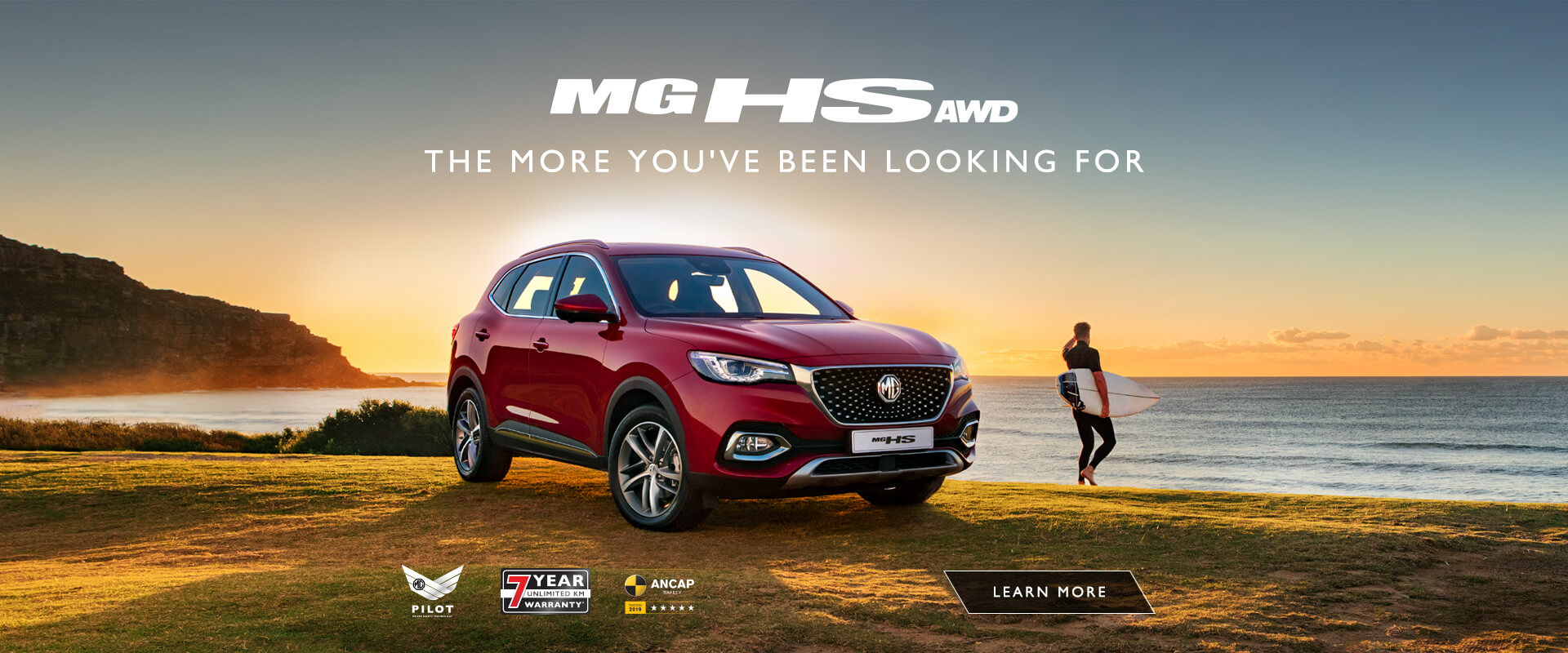 MG HS AWD. The more you've been looking for.
