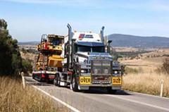 Super-heavy haulage