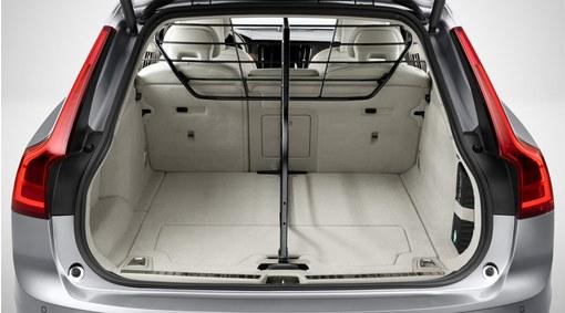 Load compartment divider, longitudinal