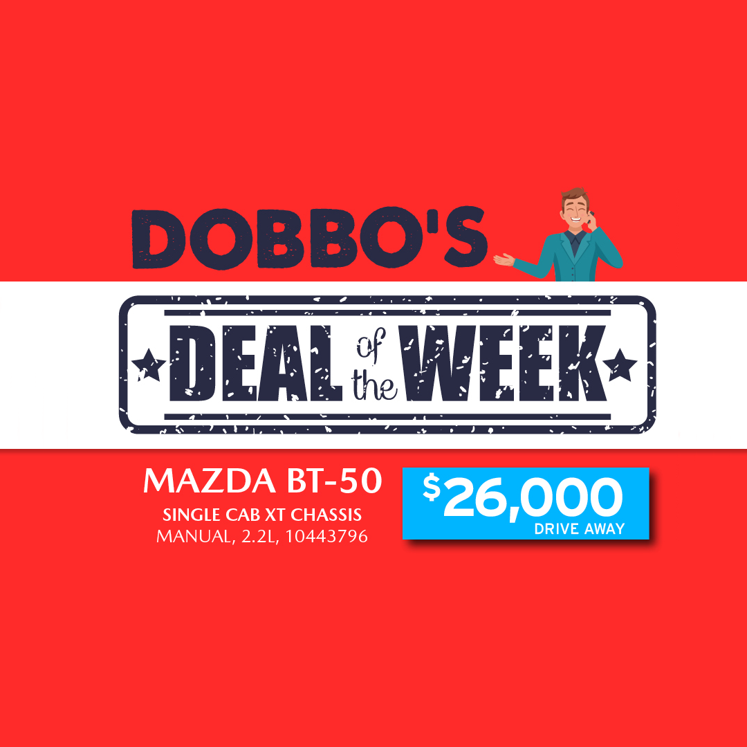 Dobbo's Deal Of The Week