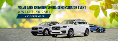 The Volvo Cars Brighton Spring Demonstrator Event