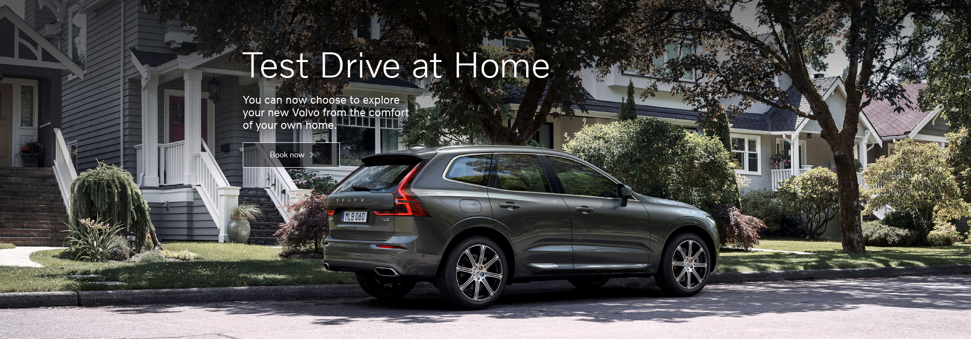 You can now choose to explore your new Volvo from the comfort of your own home.