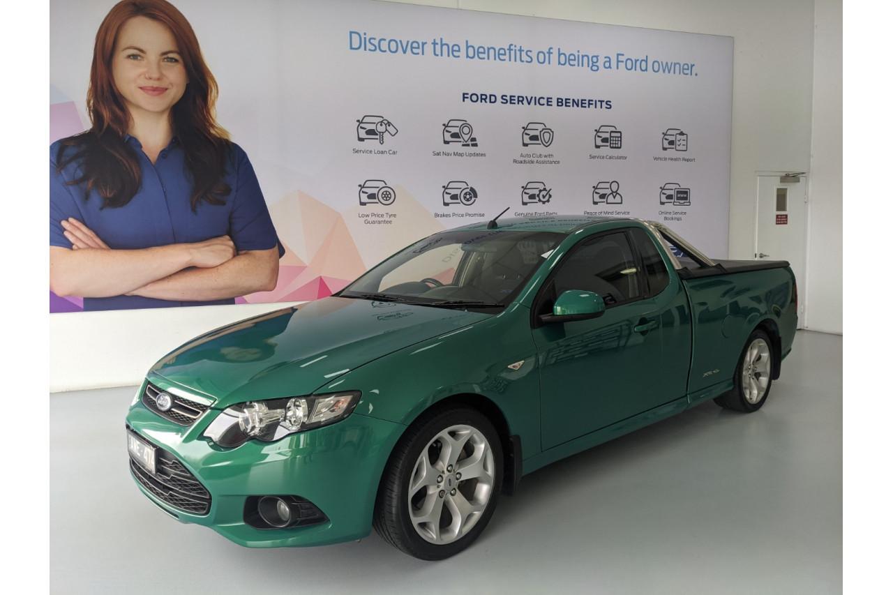 2012 Ford Xr6 FG MKII ECOLPI Utility