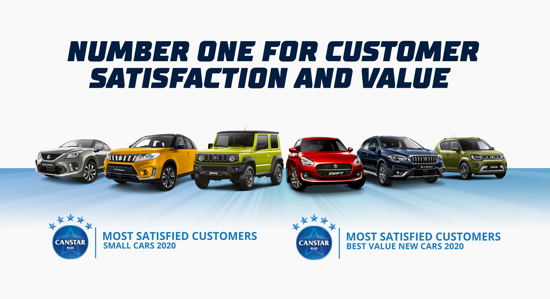 Suzuki Number One for Customer Satisfaction and Value