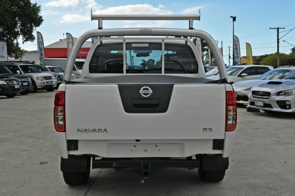2013 MY12 Nissan Navara D40 S7 MY12 RX Cab chassis Image 4