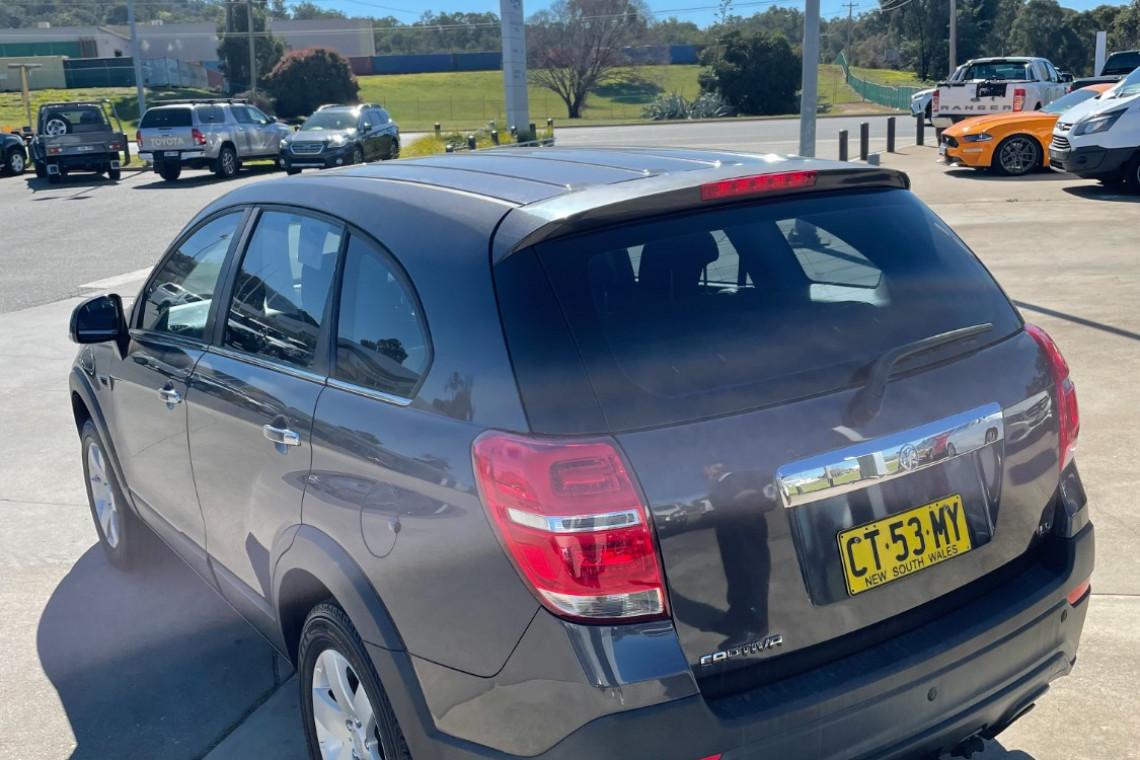 2014 Holden Captiva CG MY14 7 Suv