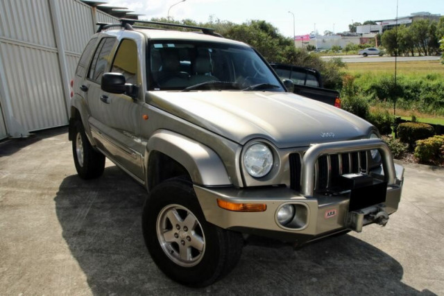 2003 Jeep Cherokee KJ MY2003 Limited Wagon