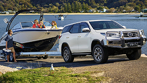 Fortuner Looks more than ready for action.