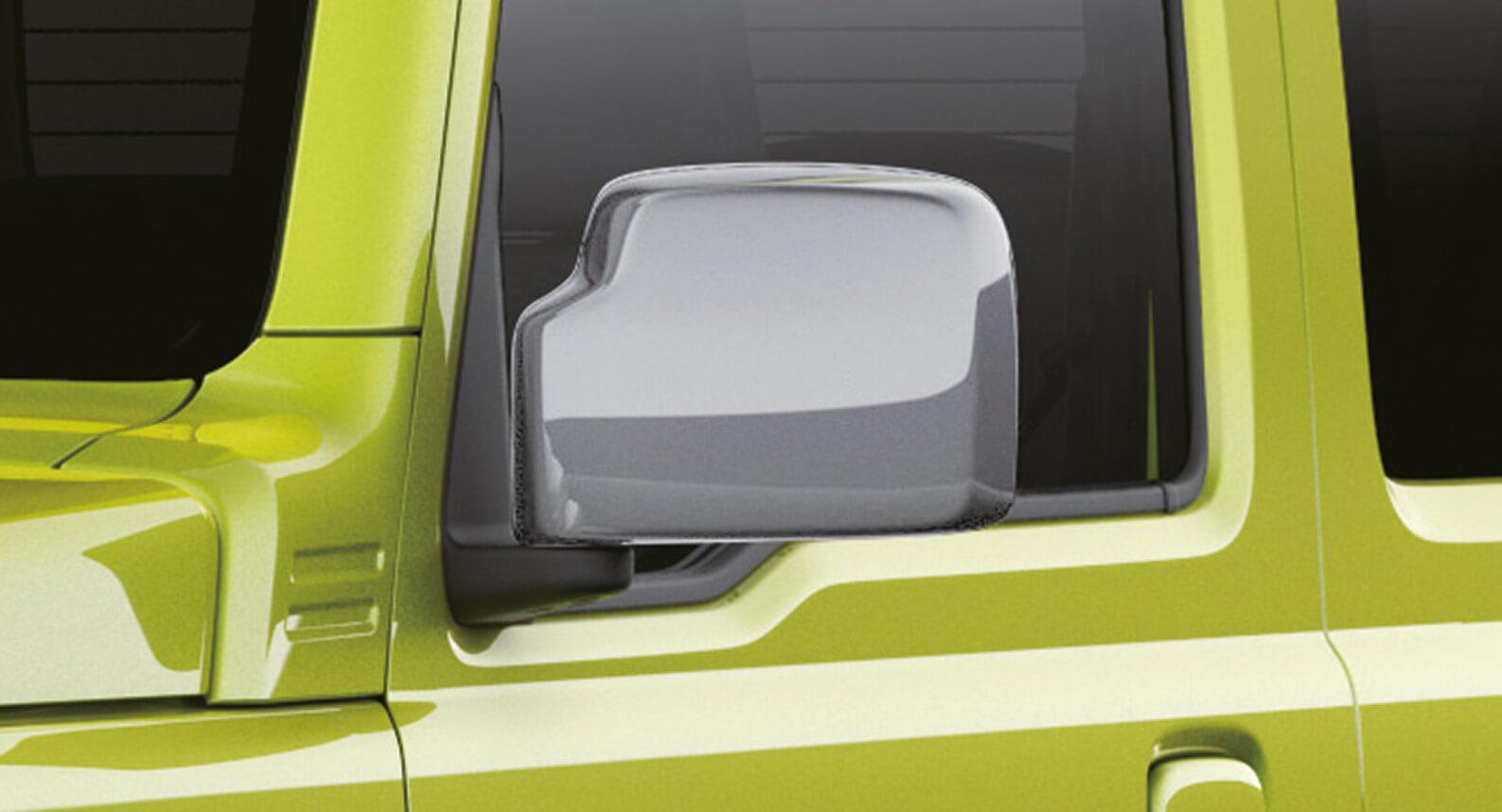 Jimny - Door Mirror Cover, Silver