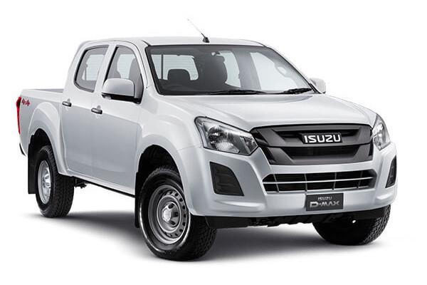 Isuzu UTE D-MAX SX Crew Cab Ute 4x4 IO