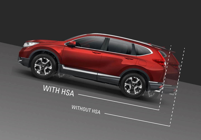 CR-V Hill Start Assist (HSA)