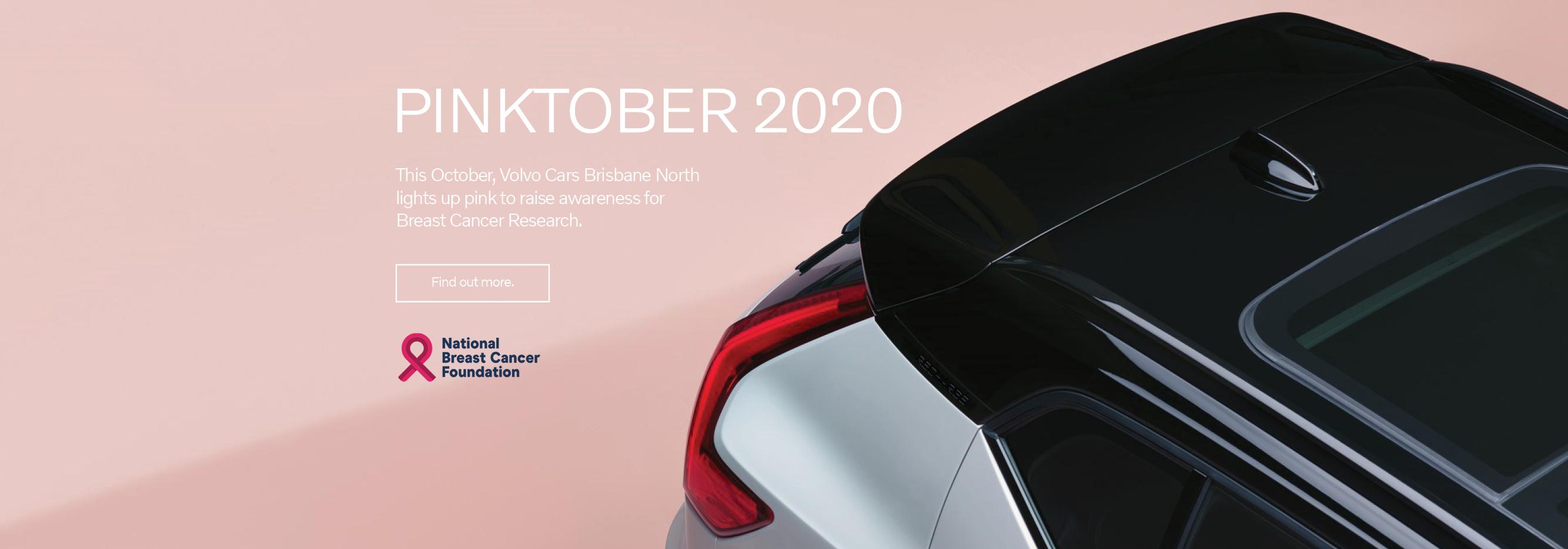 Volvo Cars Brisbane North Pinktober Fundraiser