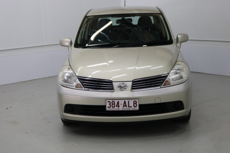 2009 MY07 Nissan Tiida C11 MY07 ST Sedan