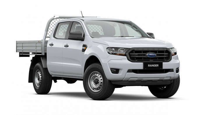2021 MY21.25 Ford Ranger PX MkIII XL Double Cab Chassis Cab chassis Image 1