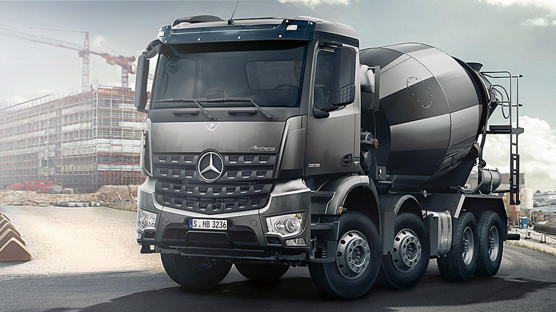 Arocs 8x4 Reliability.
