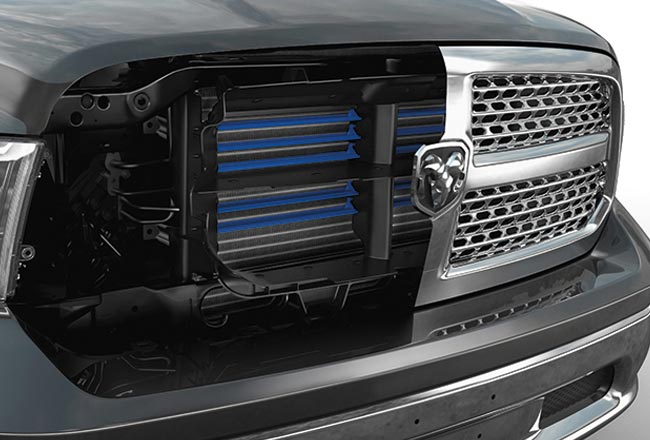 1500 Express V8 Hemi Crew Cab ACTIVE GRILLE SHUTTERS